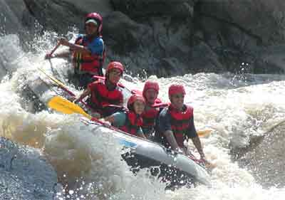 Chiang Mai Whitewater Rafting
